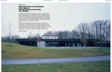 photo: Hélène Binet - domus, issue 999