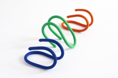 Loop, blue / green / orange
