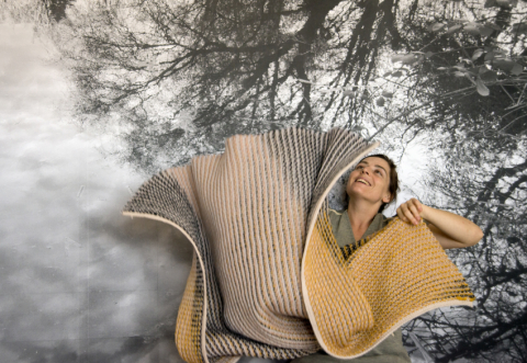 BOREAL Demi blanket, 100% wool